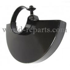 Защита ушм(болгарки) 230 кр. черная (d74-75)