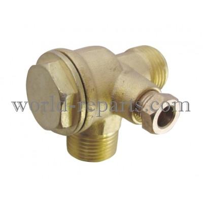 Клапан компрессора малый (латунь)